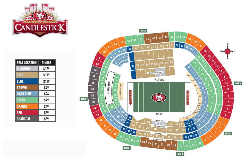 Giants vs 49ers tickets for sale